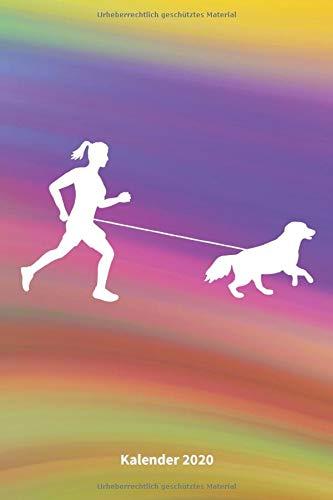 Geländeläuferin: Jahresplaner / Terminplaner / Kalender 2020 Laufen mit Hund - DIN A5 - Hunde Geschenk Hundebesitzer