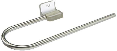Spirella Accesorio Pared Acero INOX Loft TOALLERO Grey C-Shape 1205975, Blanco, Estandar