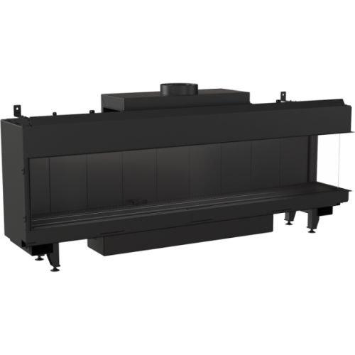 Gaskamin Kratki LEO 200 schwarz für Erdgas LPG Thermische Steuerung Gas-Art LPG, Ausführung Rechts