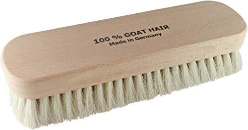 [ドイツブラシ]ゴートヘア山羊毛ブラシメンズホワイトFree