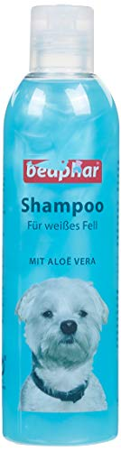 Hunde Shampoo für weißes Fell | pH neutrales Hundeshampoo | Hunde Shampoo mit Aloe Vera | Shampoo für Malteser & Havaneser | 250 ml