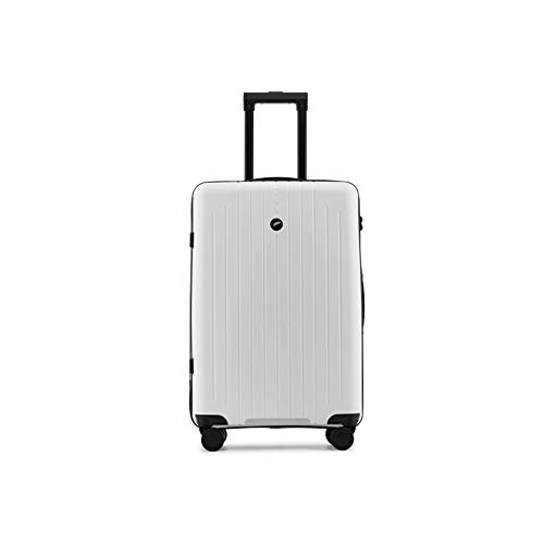 LRHD Portable Dirt-resistant Luggage, PP 4-wheel Aluminum Alloy Tie-rod Luggage, 20-24-inch 35-60L Frosted Scratch-resistant Luggage, Suitable for Travel, Business, Black