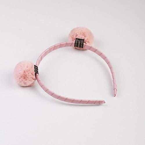 Accessoires pour cheveux Boule de cheveux bandeau mignon visage poilu laver bandeau coiffure accessoires pour cheveux-boule de poudre coréenne version