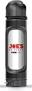 Joe's RideAir - refillable Multi-use Portable air Capsule | Inflate Bicycle Tires at a Push of a Button | Carrying it on The Bicycle Using The Standard Bottles cage | for tubeless Users | with Lock
