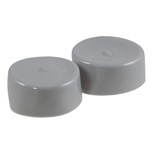 CURT 23198 1.98-Inch Trailer Wheel Bearing Protector Dust Covers, 2-Pack
