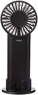 shuaishuang573 Ventilador de Doble Hoja W7 Ventilador pequeño de Mano Multifuncional Carga de Alto Volumen USB Teclas de Piano Redondas de plástico Ordinario