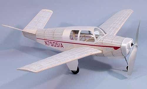 Bonanza Model 35 Wooden Model Airplane by Dumas by Dumas
