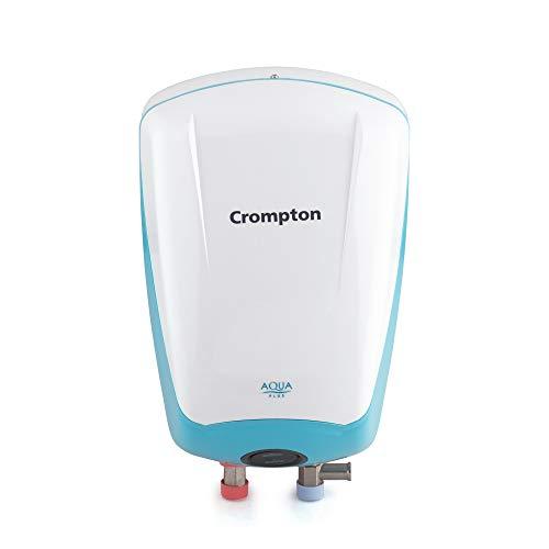 Crompton Aqua Plus(3KW) 3-Litre Vertical Instant Water Heater (Blue/White)