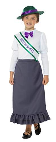 Smiffy's-49697L costume, color gris, L-UK Age 10-12 yrs (49697L)