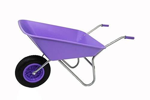 LY Tools 85L lila Kunststoff mit lila Pneumatic Rad – hervorragende Qualität