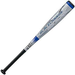 ZETT(ゼット) 少年野球 軟式 バット カーボン(FRP)製 ブラックキャノンNT2 76㎝/550g平均 シルバー BCT71076