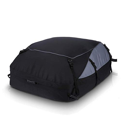 MANGGUO 350L Car Roof Bag,Folding Roof Top Box Storage Bag Waterproof...