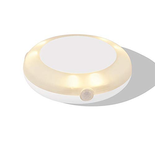 Motion Activated Bed Light Led Under Bed Light, Automatically Turn Off Warm Light