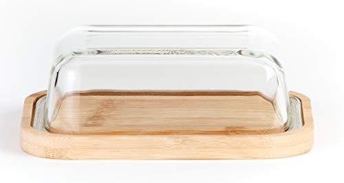 Hanseküche Burriera – Burriera in vetro e fondo in legno di alta qualità – molto...