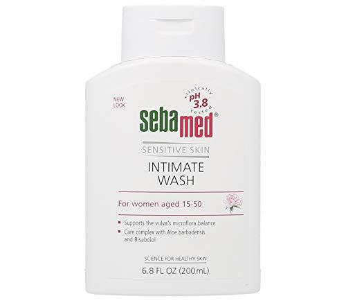 Sebamed Feminine Intimate Wash pH 3.8 for Microflora Balance with Aloe Vera Mild Organic Based Daily Vaginal Wash Feminine Hygiene 6.8 Fluid Ounces (200 Milliliters)