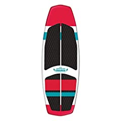 The Charge is a full foam wakesurf board and a great and economical way for the whole family to enjoy the wake Quick to accelerate in the wake, it comes with a removeable 3-fin setup for agile turning and control Topped with a soft and grippy EVA pad...