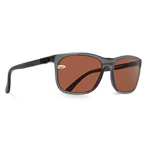 gloryfy unbreakable eyewear Unisex-Erwachsene Gi22 Amadeus Sun Grey Sonnenbrille, Anthrazit/Anthracite, 52