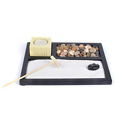 Liapianyun Zen Garden Set de Accesorios, Herramientas Diferentes Opciones Propio jardín de...