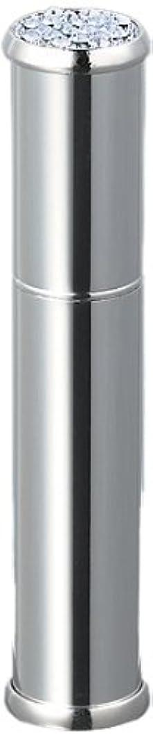 篭委任するアグネスグレイ30121 メタルアトマイザーシルバー ラインストーン20石