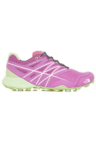The North Face W Ultra MT, Zapatillas de Running Mujer, Morado (Sweet Violet/Budding Green), 39