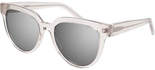 SAINT LAURENT Gafas de Sol SL M28 Crystal/Silver 54/19/140 mujer
