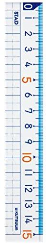 クツワ『STAD算数定規15cm』