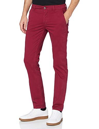 BOSS Herren Schino-Slim D Hose, Dark Red609 , 33 W/32 L