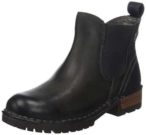 bugatti Damen 431322501200 Stiefeletten Kurzschaft Stiefel , Grau (Dark Grey 1100) , 37 EU