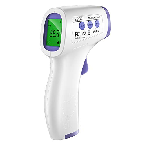 Thermometer for Adults, No Touch Infrared Forehead...