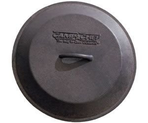 Camp Chef 35,6 cm Seasoned Dutch Oven Gusseisen-Pfanne Ersatz Deckel
