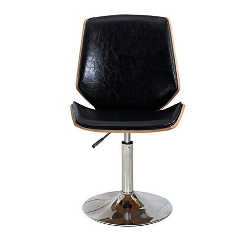 Lwjjby Giratoria de Oficina, Vintage Retro Design Silla de Comedor Cocina Silla...