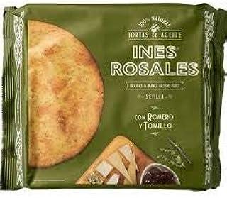 TORTA ACEITES CON ROMERO Y TOMILLO 120 gr (4 unidades