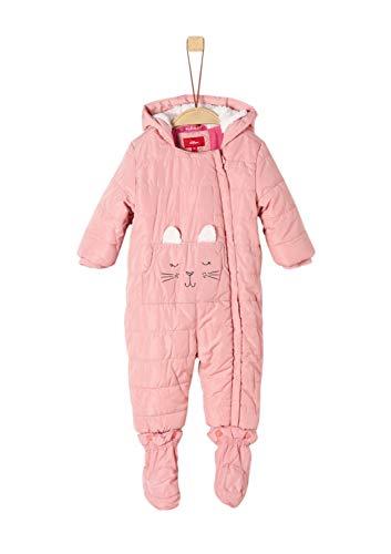 s.Oliver Baby-Mädchen 59.909.85.8870 Schneeanzug, Rosa (Dusty Pink 4261), (Herstellergröße: 80)