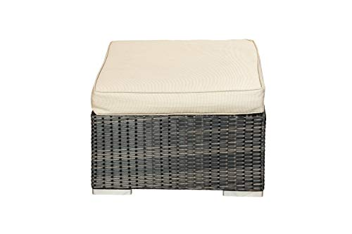 Footstool – Modular Rattan Garden Furniture – Select Your Components To Match Your Exact Specification