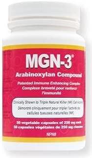 MGN-3 250mg -Regular Strength- BioBran Arabinoxylan Compound AHCC (50 Vegetarian Capsules) by Lane Labs (MGN3 MGN 3) Brand: Daiwa Health Development