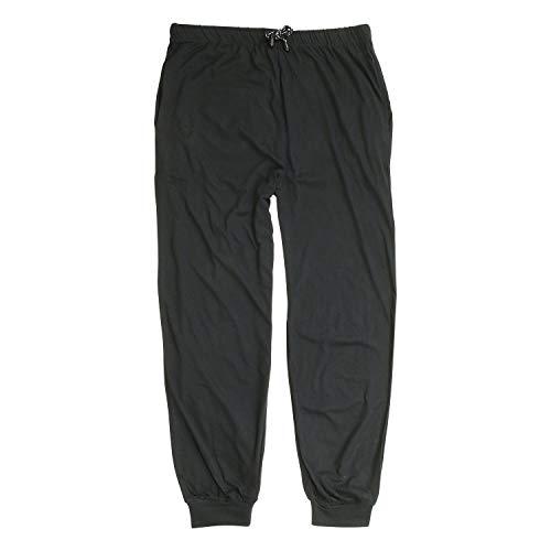 ADAMO Schwarze, Lange Schlafhose Übergrößen bis 10XL, Größe:6XL