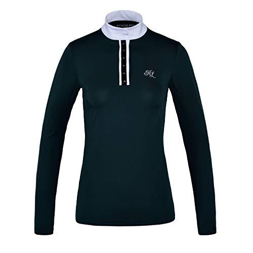Kingsland Damen Turniershirt HUSLIA Größe XS, Farbe Green Scarab
