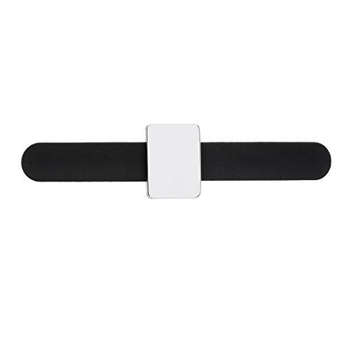 Baoblaze Salon de Coiffure Bracelet Magnétique Accessoires Cheveux Grip Bracelet Ceinture Clips Support Styling Outil pour Pince À Cheveux Agrafe Clous À Vis Ciseaux etc - Noir