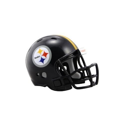 7f4b4e39ca9 Pittsburgh Steelers Riddell Revolution Pocket Pro Football Mini Helmet