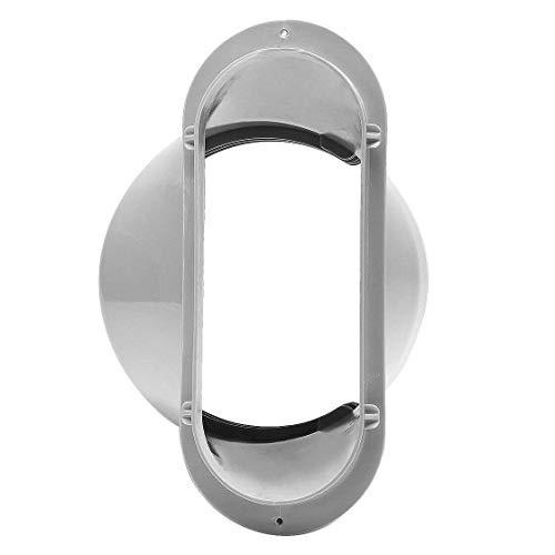 Interfaz de manguera de tubo de escape de ventana de aire acondicionado portátil de 15 CM (boquilla plana)