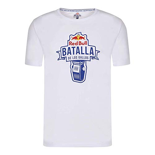 Red Bull Batalla de los Gallos Battle Camiseta, Hombres Medium - Original Merchandise