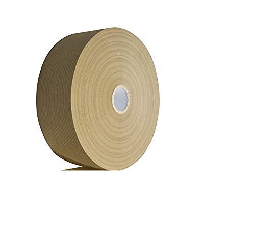 Nassklebeband braun   Kraftpapier gummiert   Aquarellpapier Länge 200m x 37,5 mm   Emi Craft