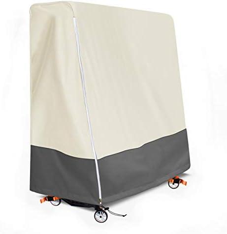 Aaaspark Indoor Outdoor Premium Ping Pong Table Cover Waterproof Dustproof Sunscreen Heavy Duty product image