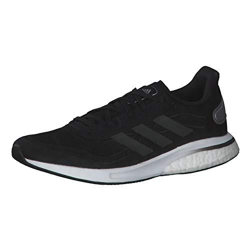 adidas Damen Supernova W Sneaker, Schwarz Grau Weiß, 38 2/3 EU