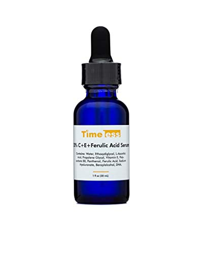 The NEWLY REPACKAGED Timeless 20% Vitamin C+E Ferulic Acid Serum Now in Airless Pump Bottle - 30ml! The First Available in UK & Europe at TIMELESS UK!