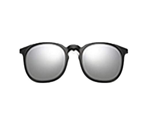 OULN1Y Gafas de sol 5 In 1 Multi-Clip Ultra-Light Clip On Sunglass Women Round Sunglases Eyewear Sun Glasses