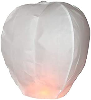 sky lanterns,China sky ballons(10 pcs/set,white)