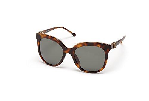 Loewe SLW948G5709AJ Gafas de sol, Shiny Brown Havana, 57 para Mujer