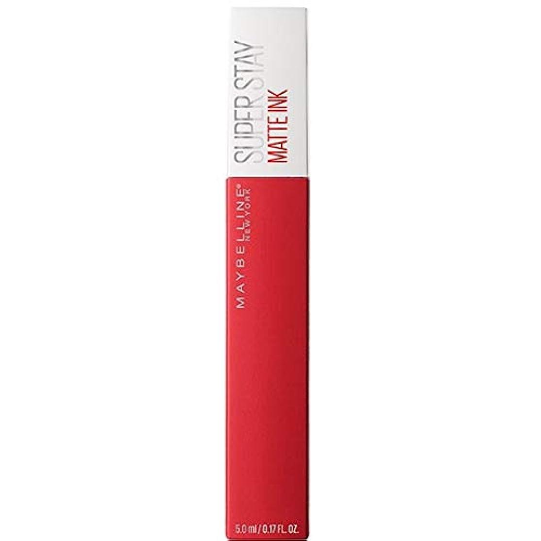 表面可塑性十年[Maybelline ] メイベリンSuperstayマットインク液20パイオニア - Maybelline Superstay Matte Ink Liquid 20 Pioneer [並行輸入品]