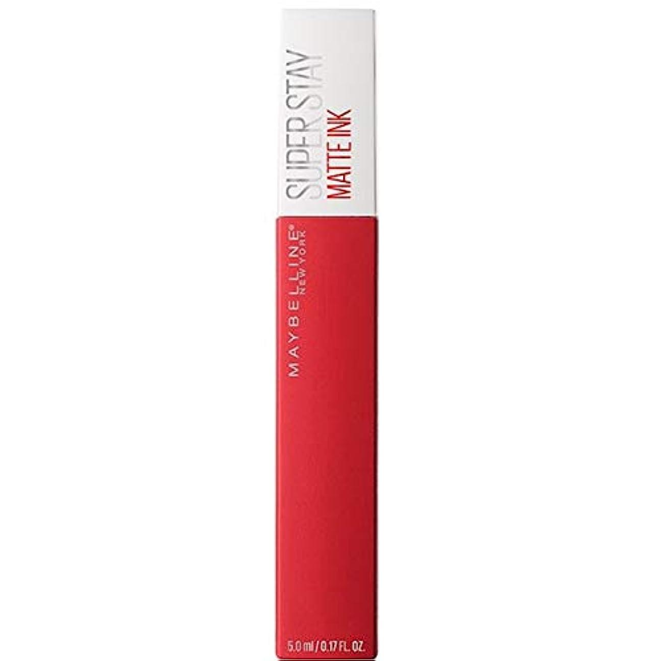 疎外焦がす満了[Maybelline ] メイベリンSuperstayマットインク液20パイオニア - Maybelline Superstay Matte Ink Liquid 20 Pioneer [並行輸入品]